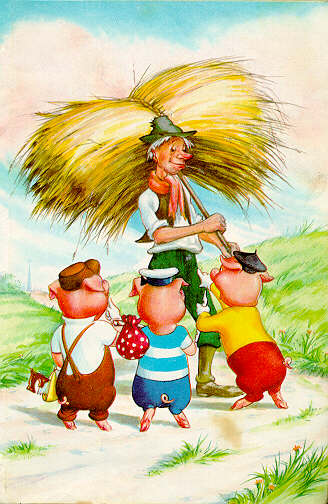 Three Little Pigs Picture
